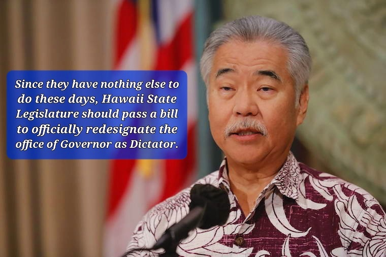 Hawaii Is Now a Dictatorship! - MAGA Institute
