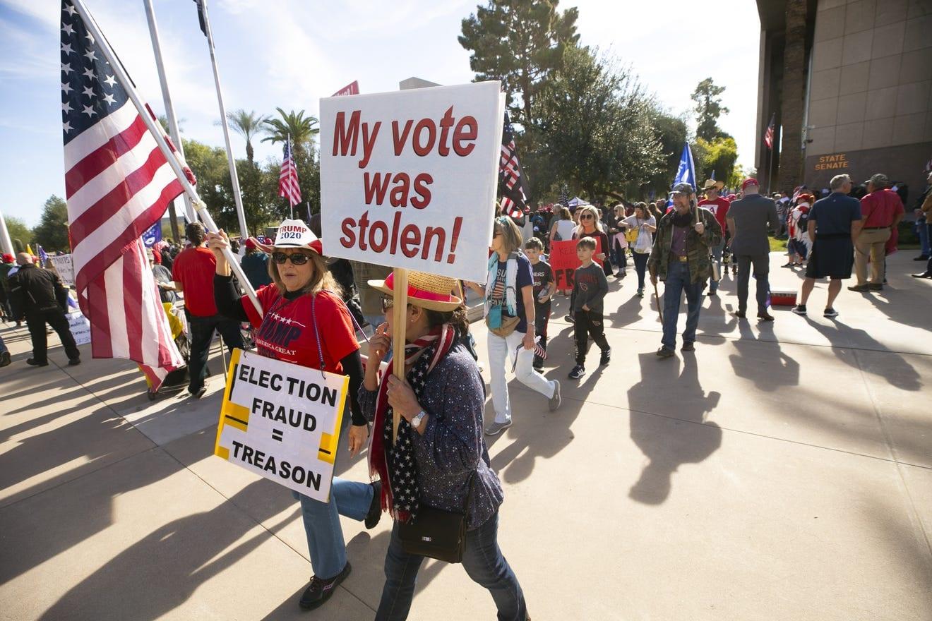 AZ Election Audit Protest