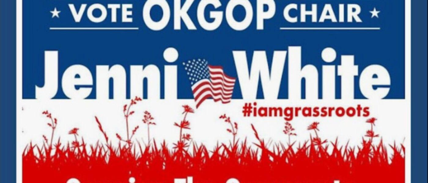 MAGA INSTITUTE PODCAST, Ep9 – Jenni White for OKGOP Chair! 7apr21